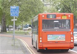 FINES: Car drivers face a penalty if they drive in bus lanes